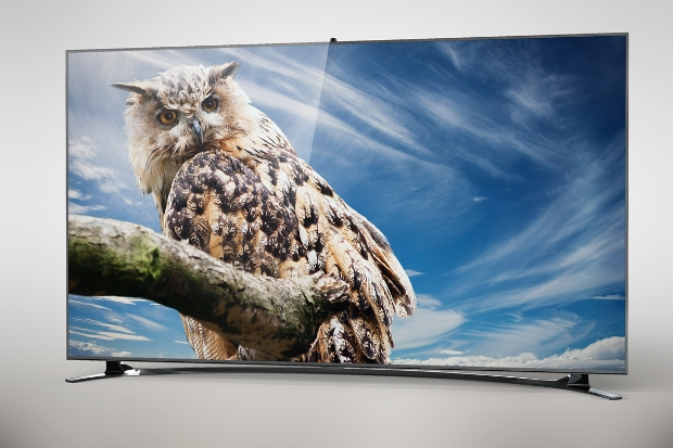 samsung hd tv mockup