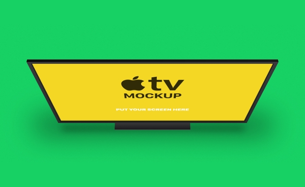 free apple tv mockup