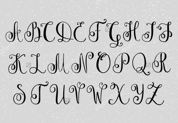 cursive writing fonts - Monza berglauf-verband com