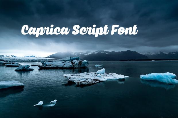 bold cursive script font