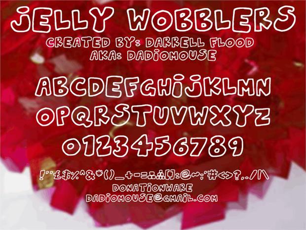 cursive bubble letters font