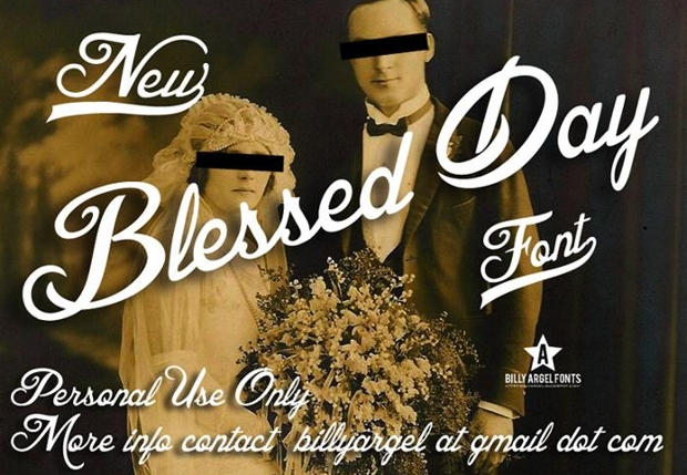 Fancy Cursive Wedding Font
