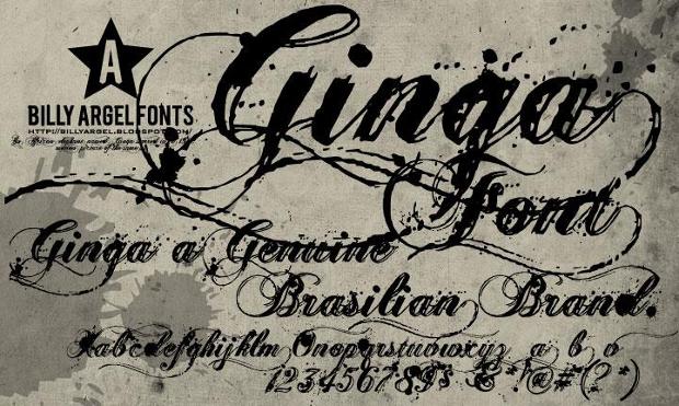Cursive Grunge Handwriting Font