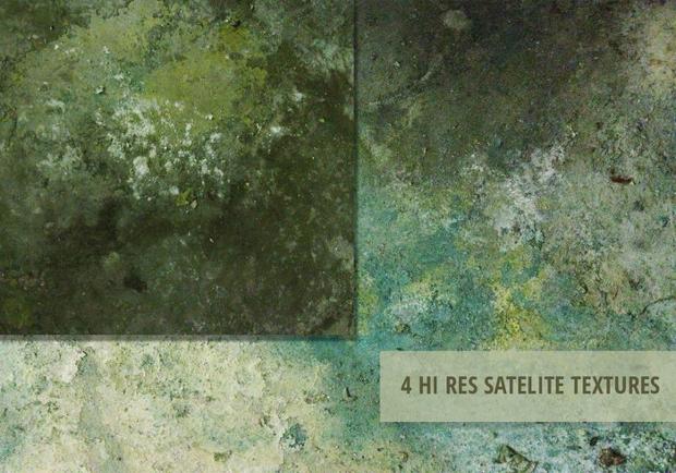 Satellite Grunge Texture