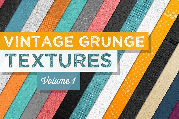 Colored Vintage Grunge Texture