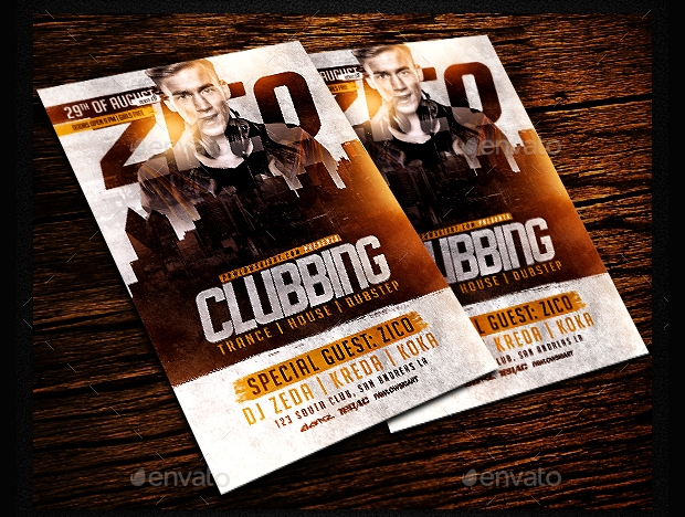 Clubbing Flyer Design