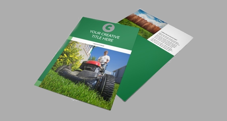 Lawn Care Flyer Templates Printable PSD AI Vector EPS - Free downloadable brochure templates