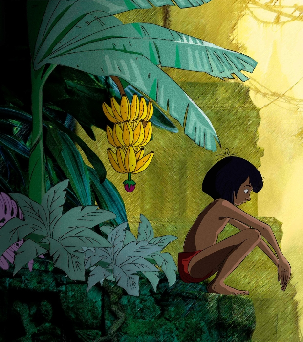 jungle book character design