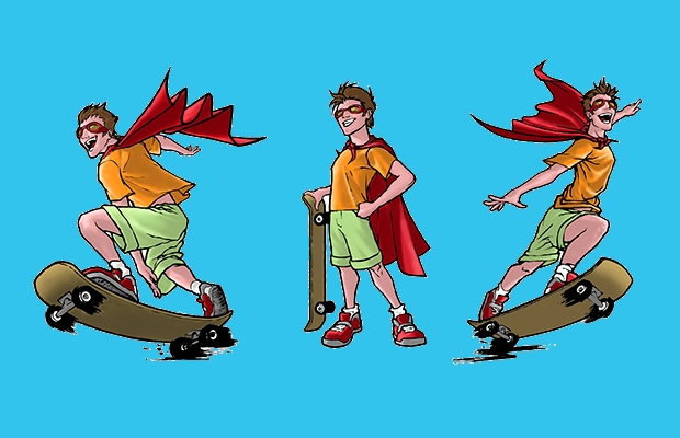 super kid character design1