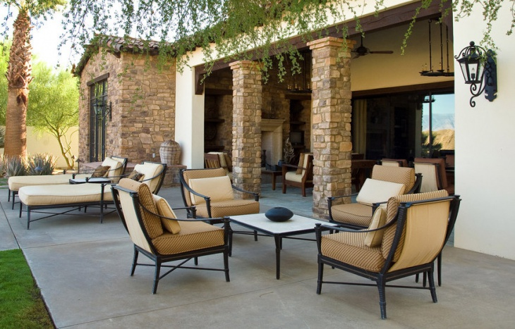 traditional front patio furniture