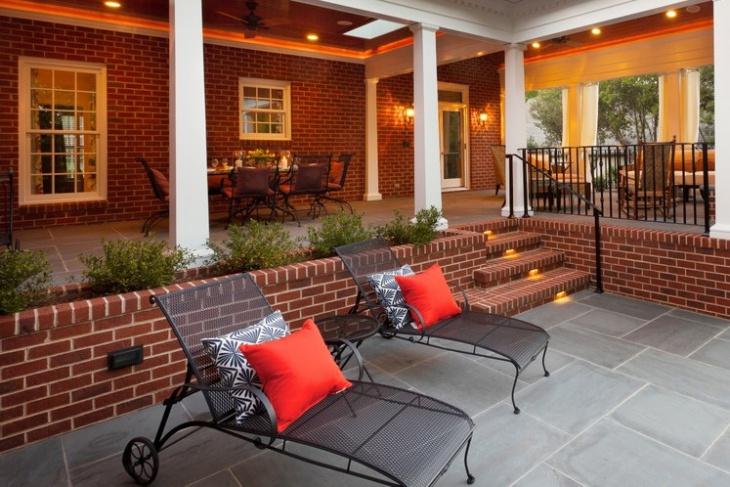 Outdoor Concrete Patio Furniture