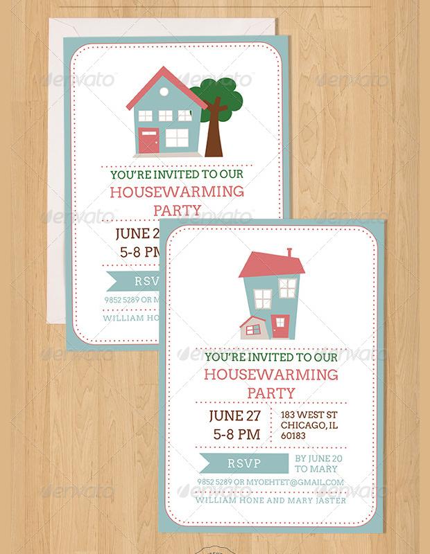 Diy Housewarming Party Invitation