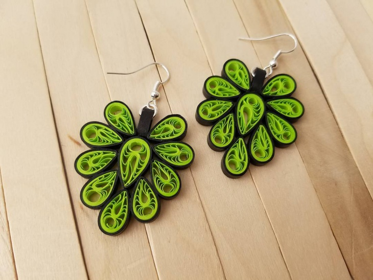 Quilling Earrings Designs Images : 60+ Earring Designs, Ideas, Models Design Trends - Premium PSD, Vector Downloads
