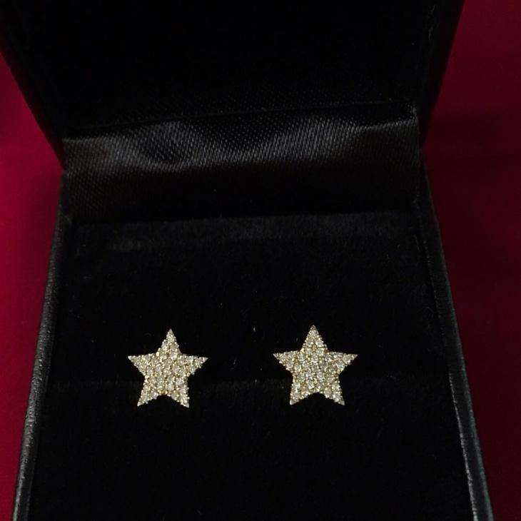 diamond stud earrings design