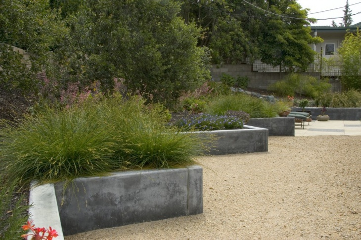 Concrete Garden Edging Design