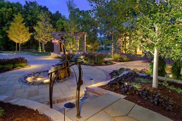 Entry Garden Lighting Ideas