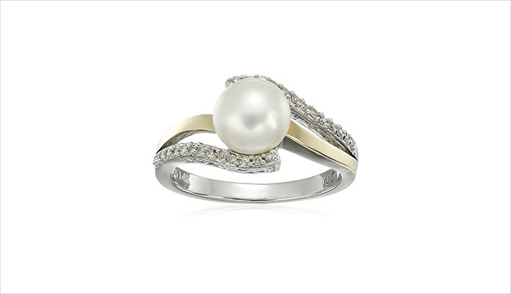 Ring Design Ideas engagement ring design ideas screenshot Pearl Engagement Ring Design