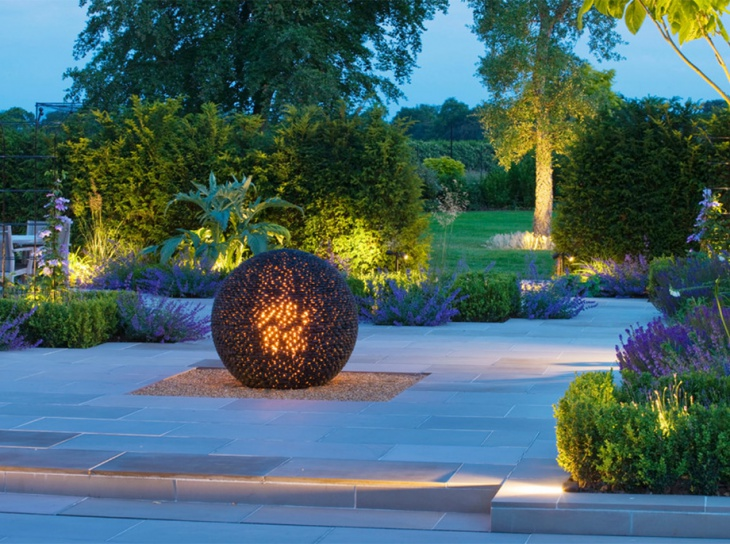 garden led lighting idea