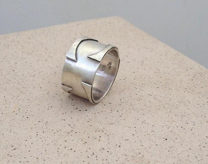 unique mens ring design