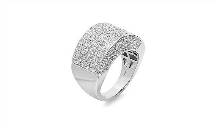 silver ring design for men