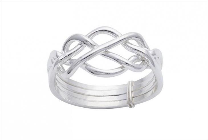 sterling silver celtic ring design