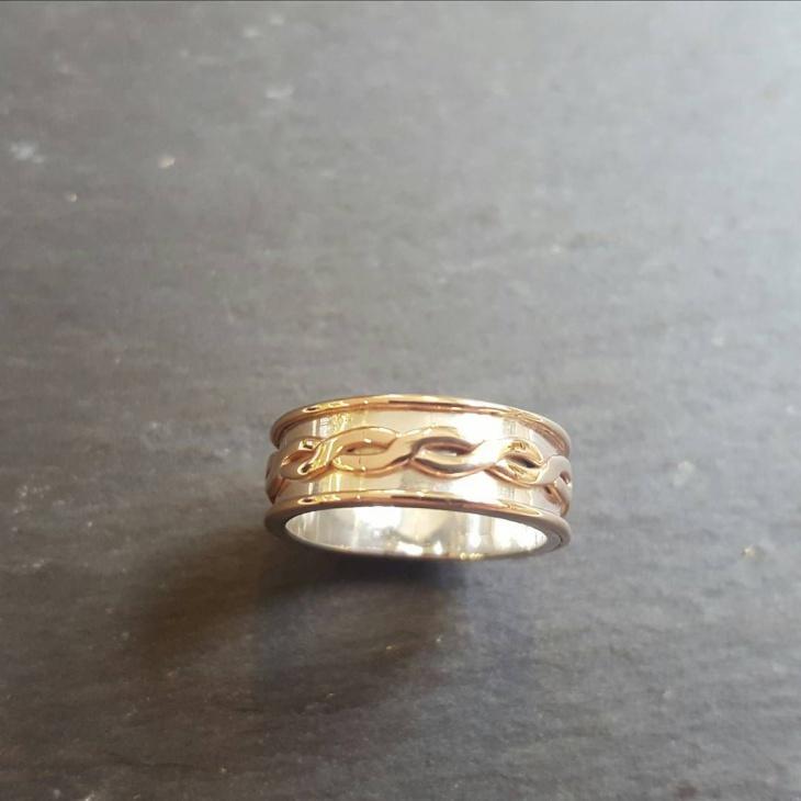 mens celtic ring design