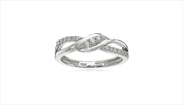 white gold ring design