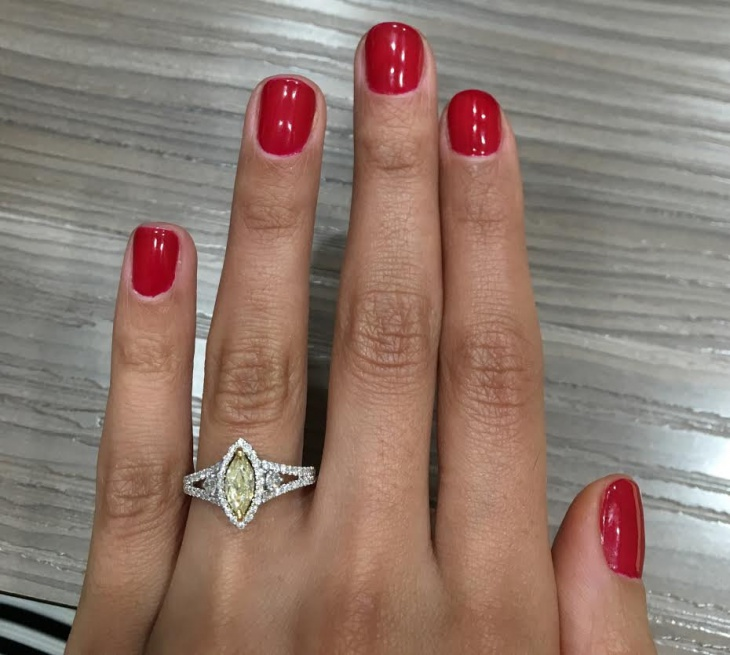 marquise diamond ring design