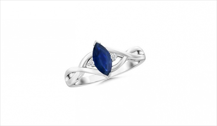 sapphire marquise ring design