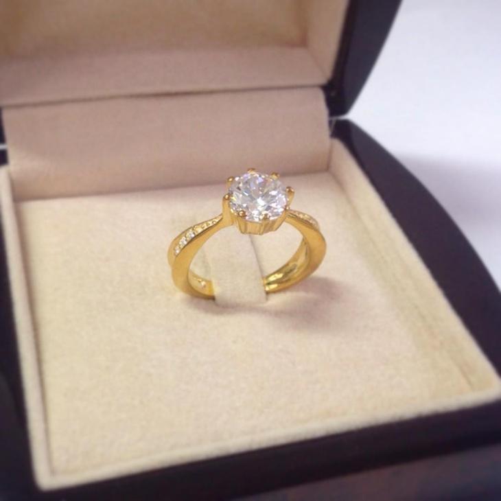 solitaire diamond ring design