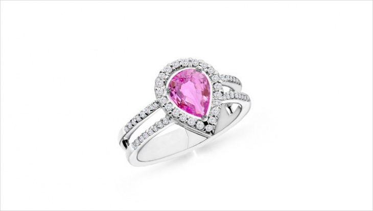 pink sapphire ring design