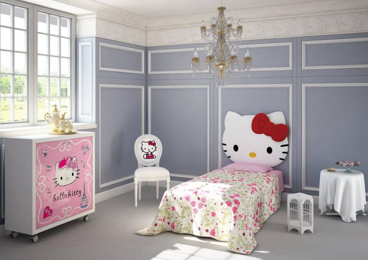 Hello Kitty Master Bedroom