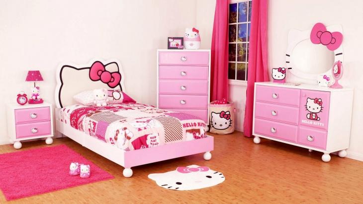 Modern Hello Kitty Bedroom