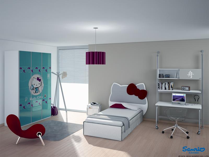 Decorative Hello Kitty Bedroom