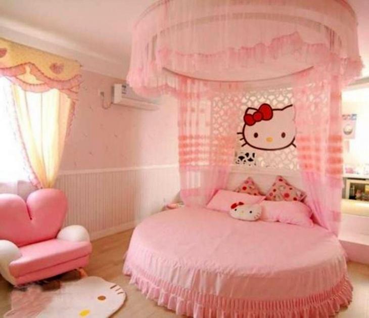Baby Girl Hello Kitty Bedroom