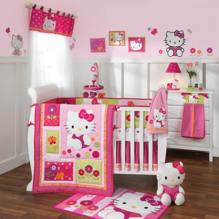 Unique Hello Kitty Baby Bedroom