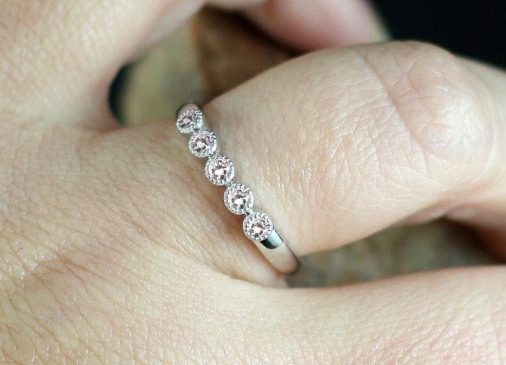 half eternity ring design