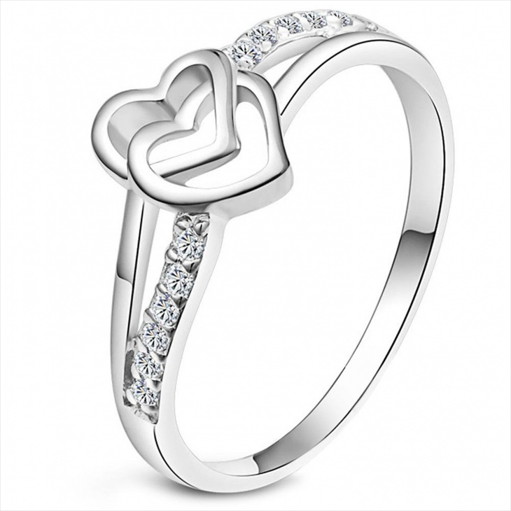 heart eternity ring