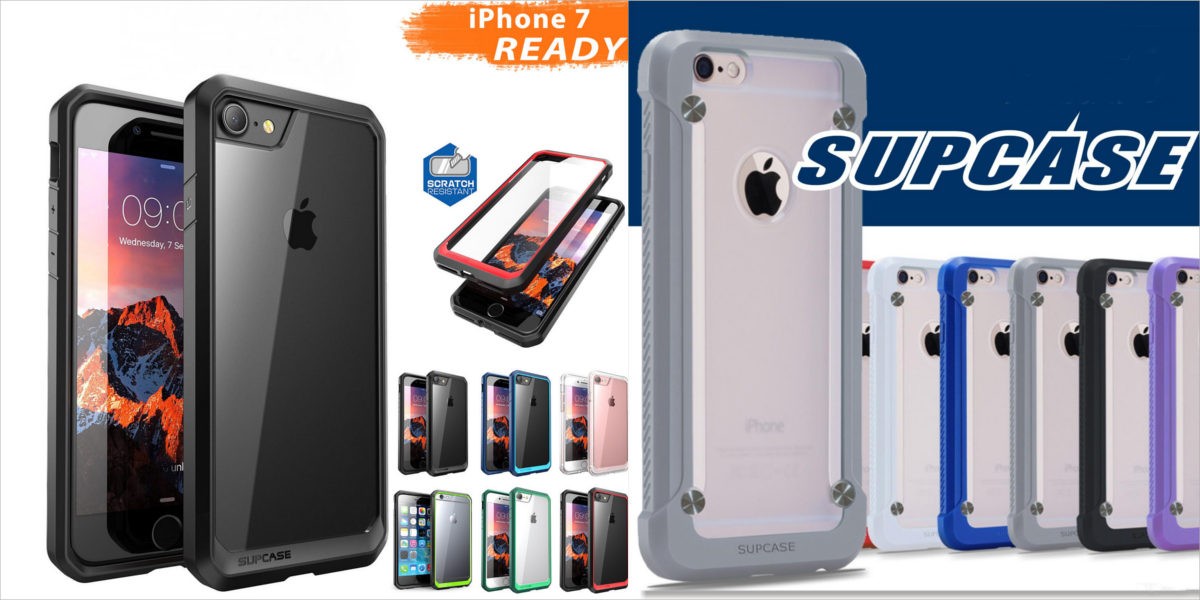 supcase clear bumper case for iphone 7