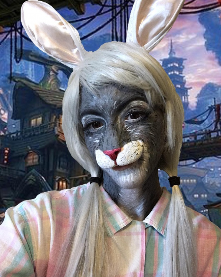 Scary Rabbit Makeover