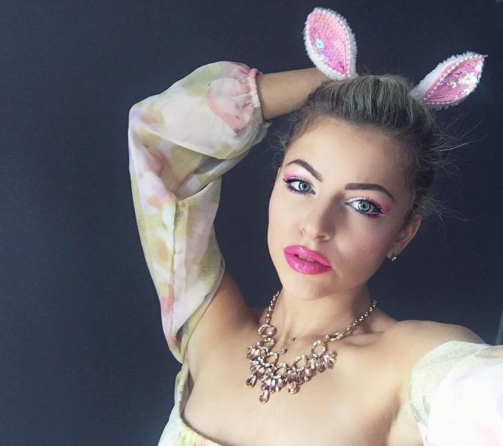 beautiful rabbit makeup idea