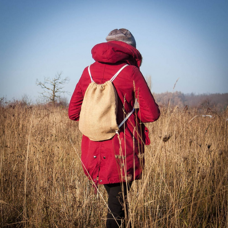 hipster drawstring backpack
