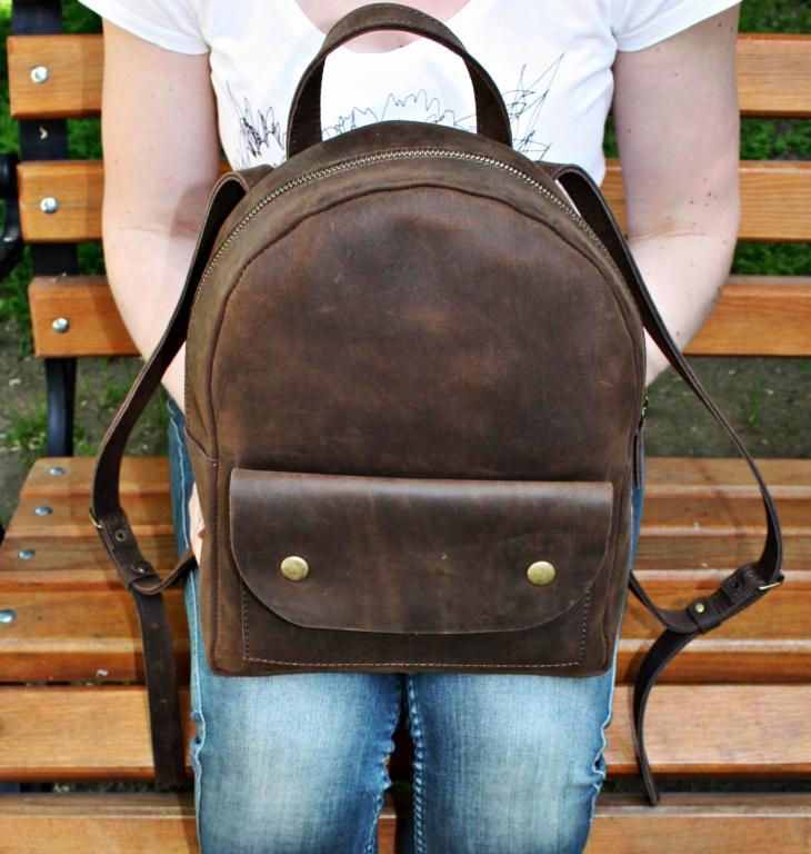 handmade hipster backpack