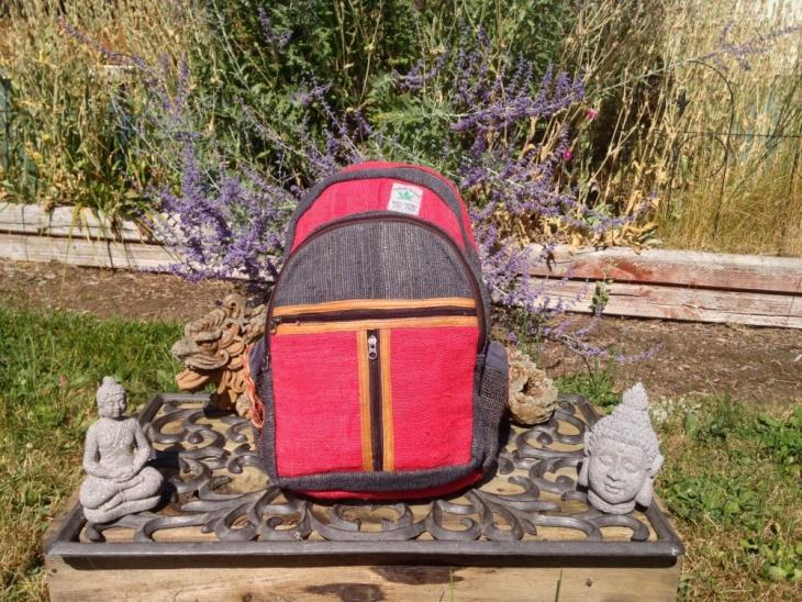 hemp hipster backpack