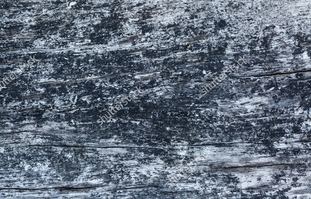 Black Burnt Wood Texture