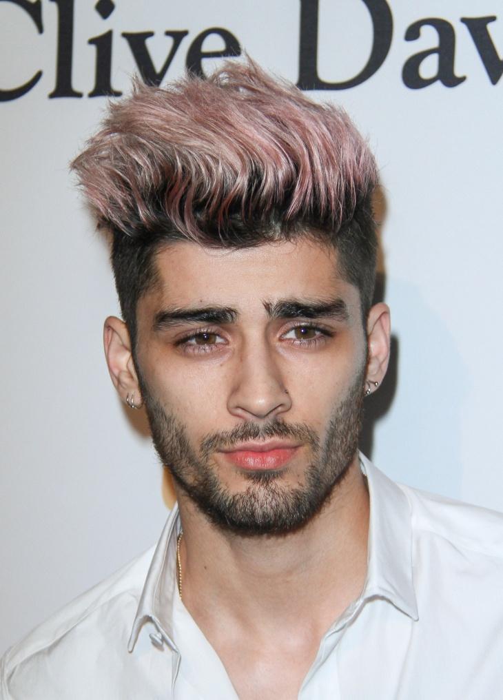 zayn malik high fade haircut design for men