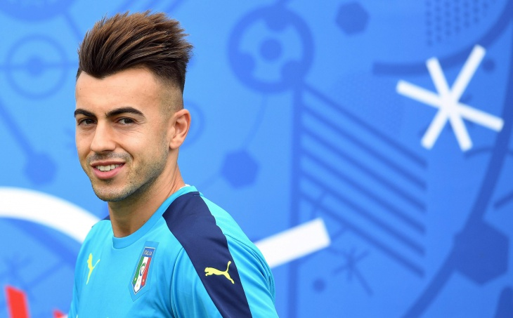 stephan el shaarawy comb over mohawk hair for men