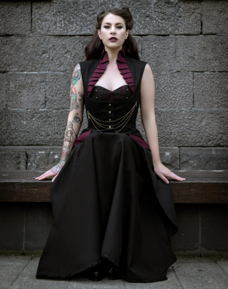 victorian formal outfit idea