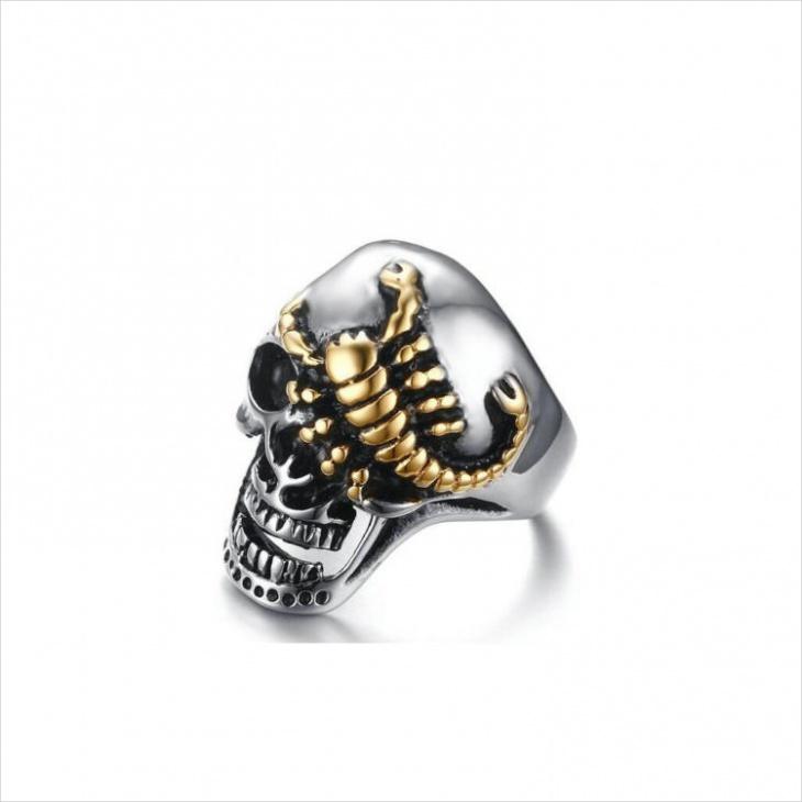 scorpion skull ring model
