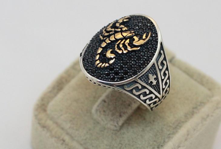 oval scorpion ring idea1